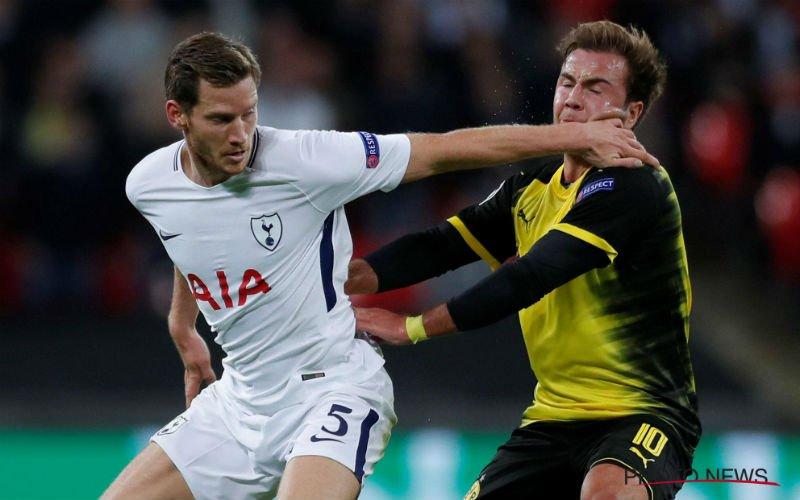 Jan Vertonghen stelt nieuwe truitjes van Tottenham voor