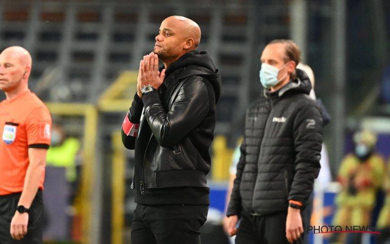 Moet Vincent Kompany nu al vrezen voor ontslag bij Anderlecht?