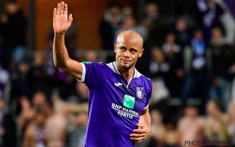 'Anderlecht en Vincent Kompany lijnrecht tegenover elkaar'