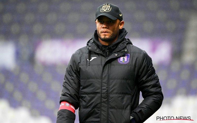 'Opstand in kleedkamer van Anderlecht tegen Kompany'