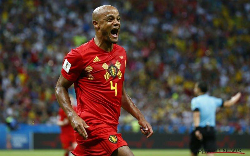 Kompany onthult bijzonder geheim over memorabele match tegen Brazilië