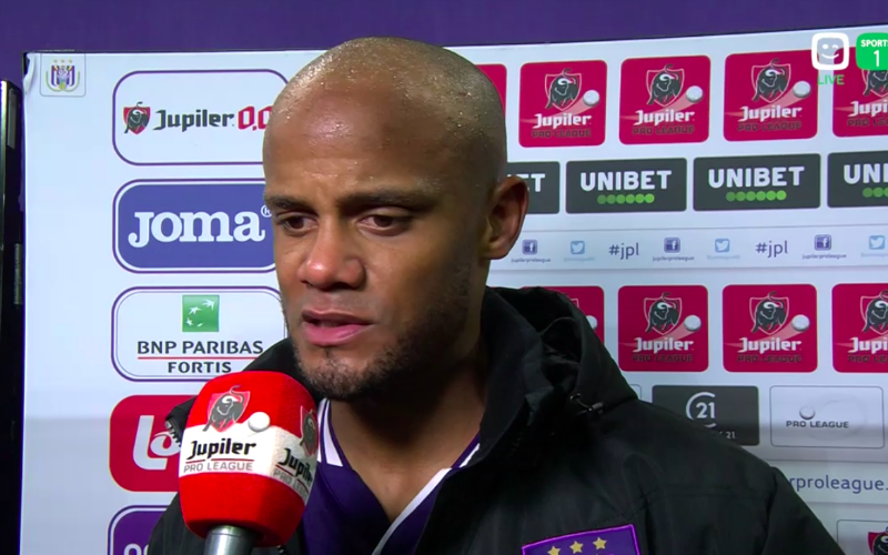 Kompany verstuurt duidelijke boodschap naar Club Brugge: