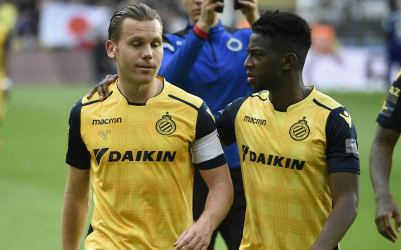 Vormer uit de ploeg bij Club Brugge?