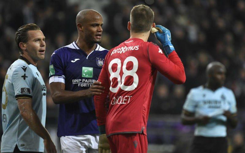 Mignolet haalt uit naar Anderlecht-fans: