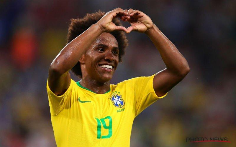 Zelfzekere Willian weet al precies hoe Brazilië de Rode Duivels kan afstoppen