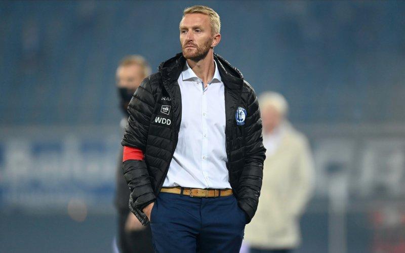 De Decker is duidelijk over ontslag bij AA Gent