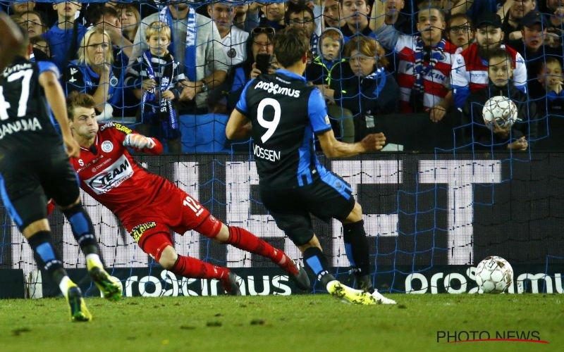 Vanhaezebrouck laat zich uit over strafschop van Club Brugge
