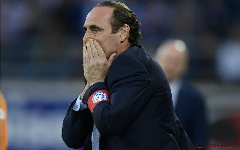 'AA Gent ontslaat Yves Vanderhaeghe'