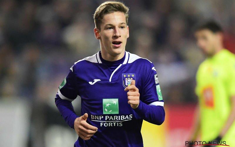 'Yari Verschaeren dreigt Anderlecht al te verlaten'
