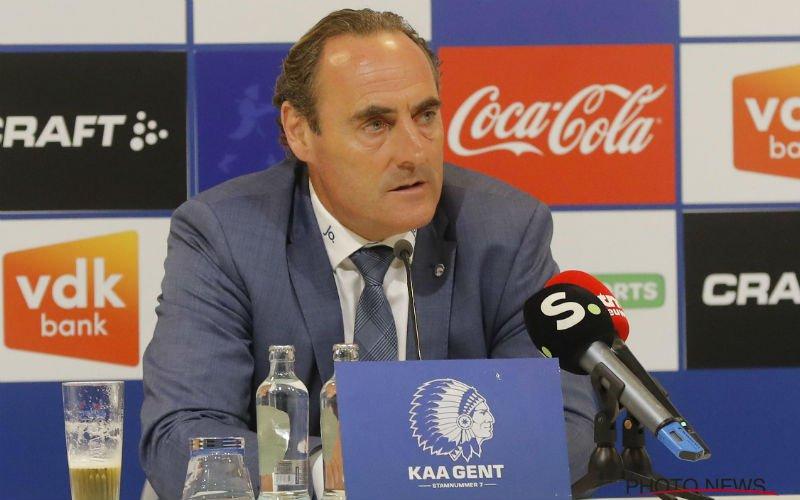 Vanderhaeghe doet opmerkelijke uitspraken over ontslag bij AA Gent
