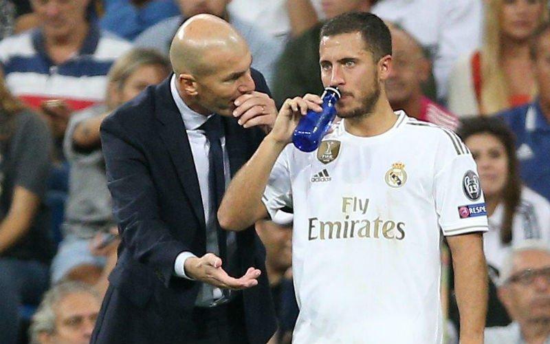 'Zinédine Zidane grijpt in en roept Eden Hazard op het matje bij Real Madrid'