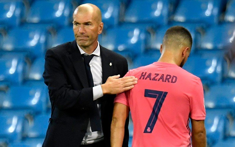 'Eden Hazard weg bij Real Madrid'