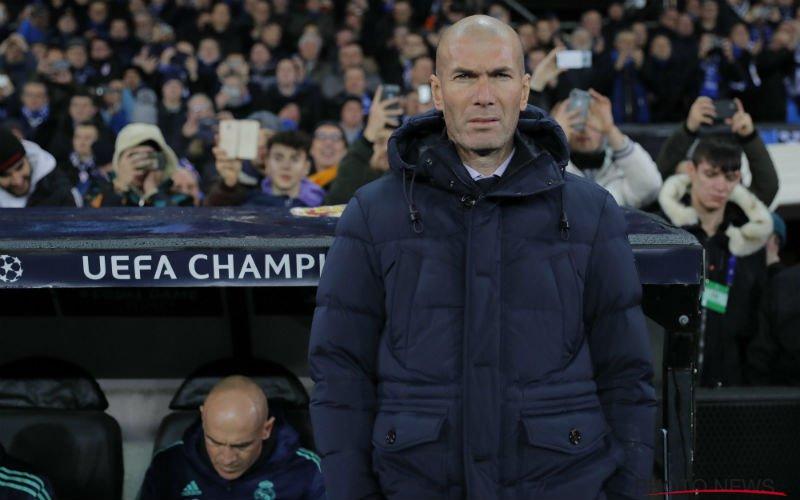 'Zinédine Zidane schokt Real Madrid met vertrek naar déze topclub'