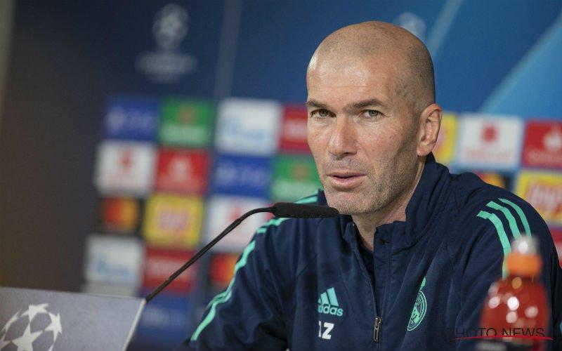 Zidane niet onder de indruk van Club Brugge: