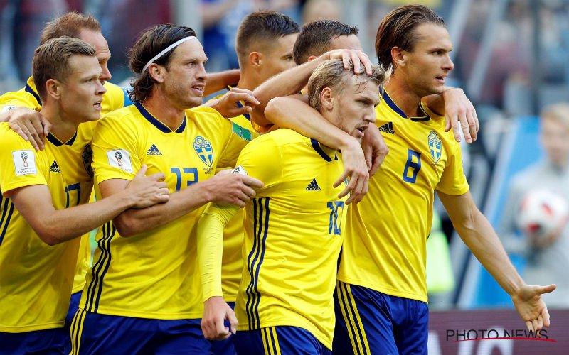 Geen schoonheidsprijs, maar wel een kwartfinale voor Zweden