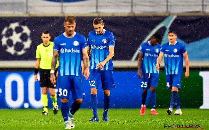 AA Gent heeft weinig te zoeken in CL na debacle tegen Dynamo Kiev