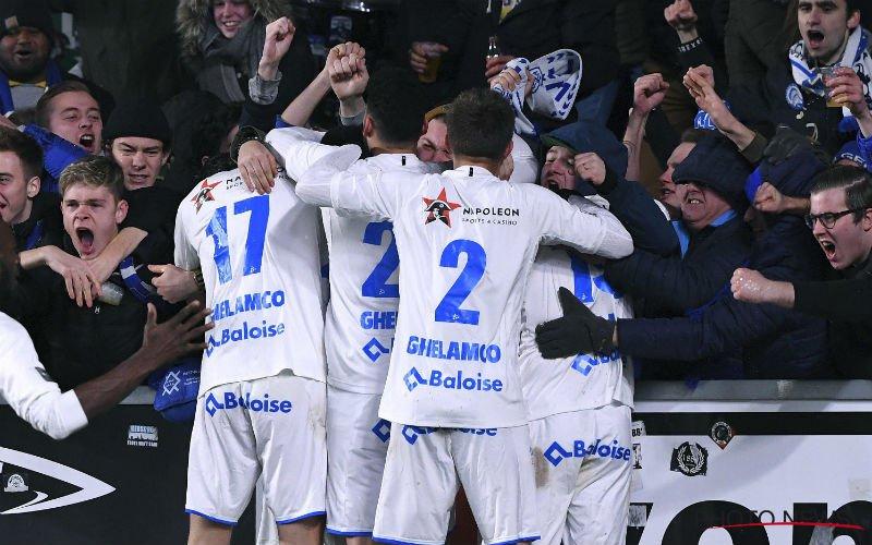 AA Gent zet STVV makkelijk opzij en stoot door naar kwartfinales