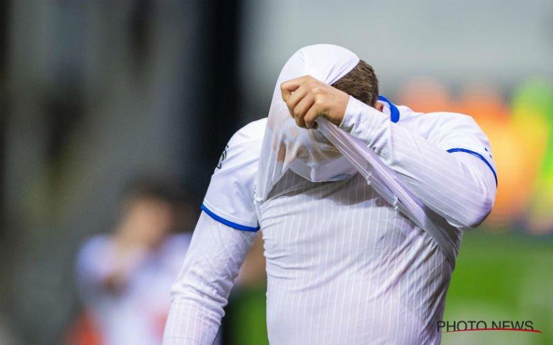 Na pijnlijke nederlaag krijgt AA Gent verschrikkelijk slecht nieuws te horen