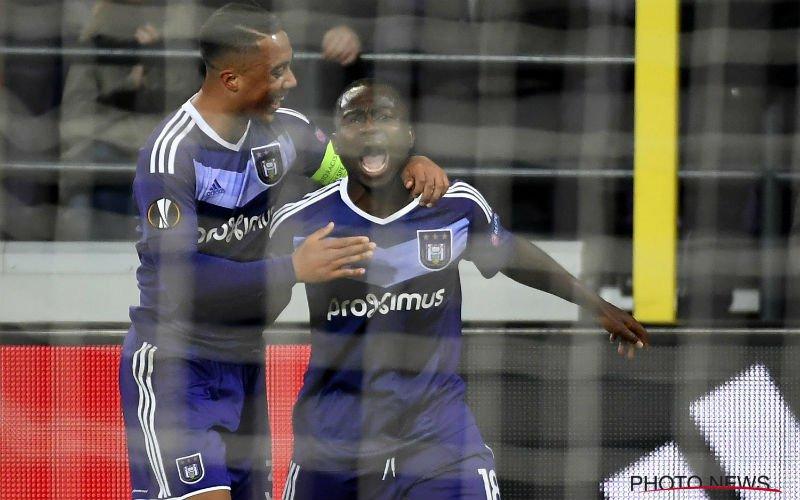 Koning Frank bezorgt Anderlecht geweldige uitgangspositie