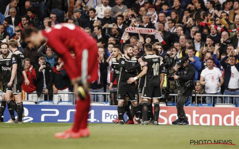 Ajax zorgt voor onwaarschijnlijke stunt in Bernabéu: 1-4!