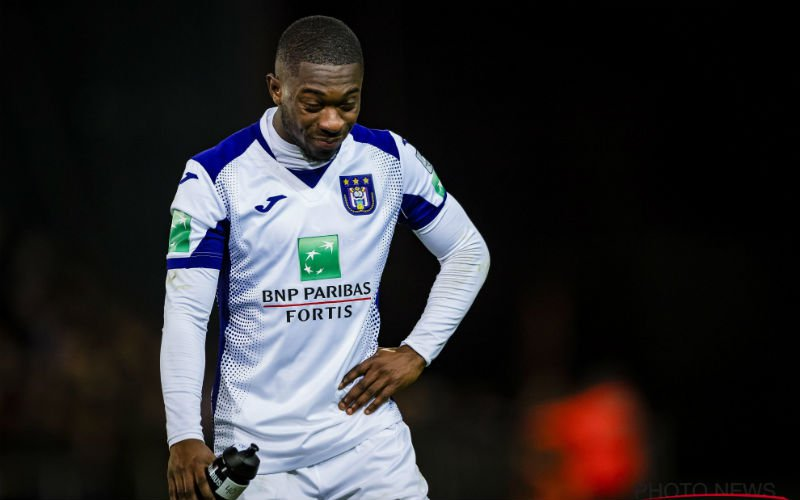 Amuzu gekraakt bij Anderlecht: