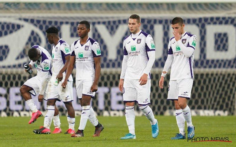 Financiële problemen zijn groot bij Anderlecht:
