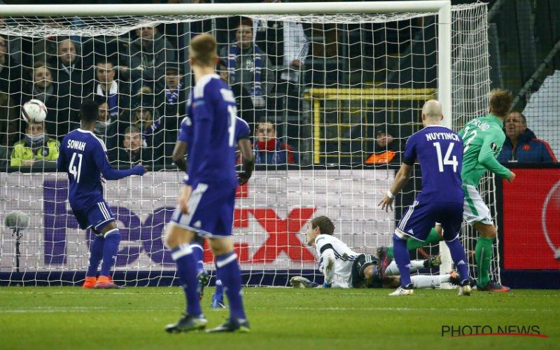 Sterkhouder van Anderlecht zwaar onder vuur: