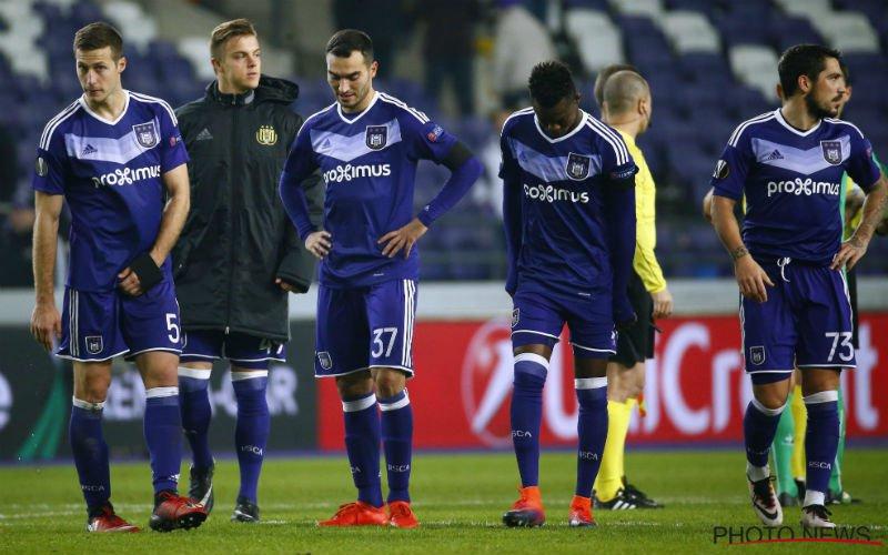 Anderlecht krijgt slecht nieuws over sterkhouder te horen