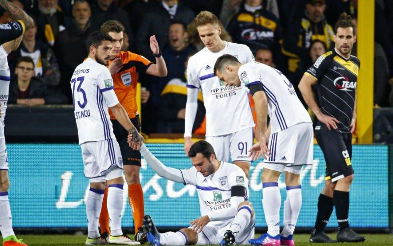Anderlecht komt in de hel terecht: