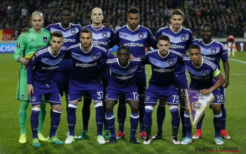 Anderlecht heeft een groot probleem voor de topper tegen Club Brugge
