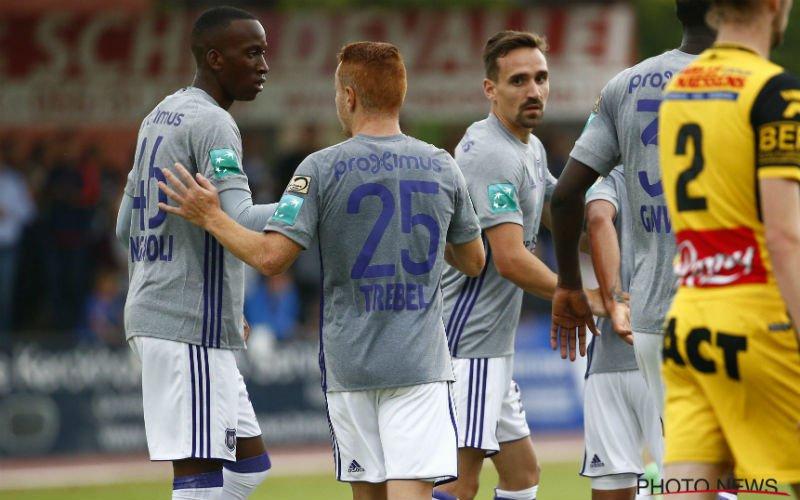 Anderlecht heeft probleem: