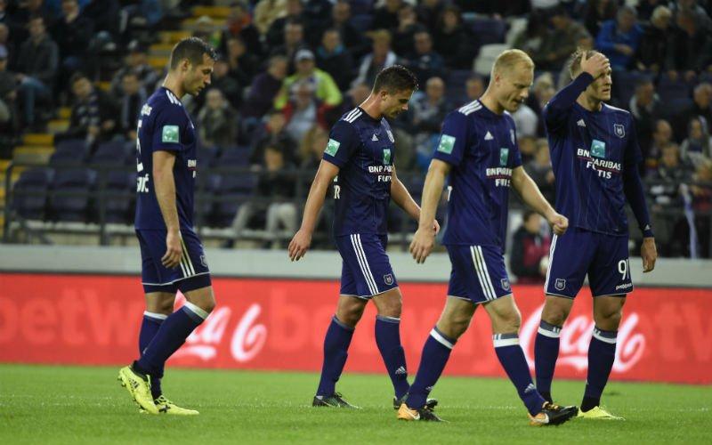 Anderlecht-speler compleet wanhopig door PSG