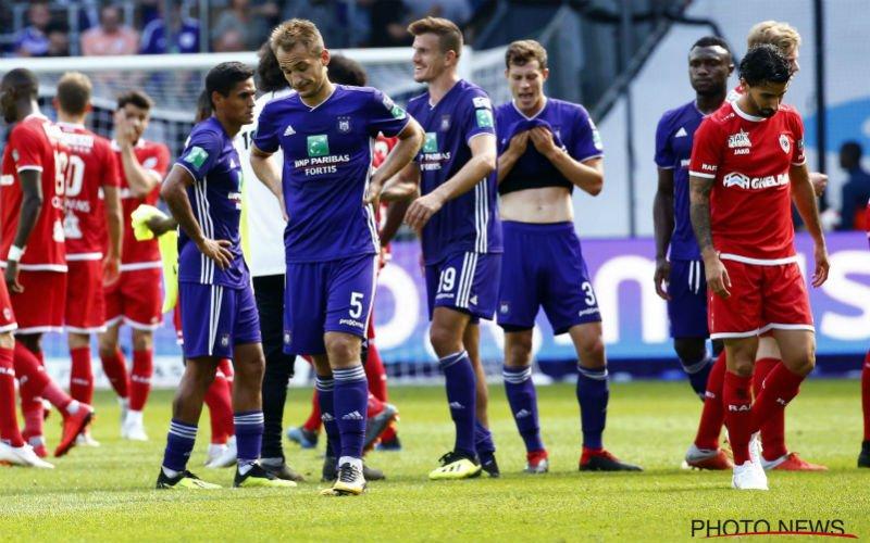 Sterkhouder Anderlecht krijgt er flink van langs: