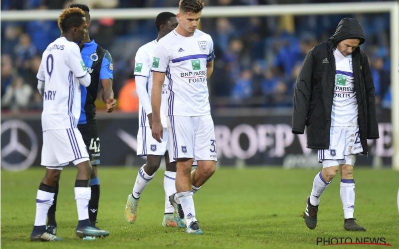 Anderlecht-icoon furieus: