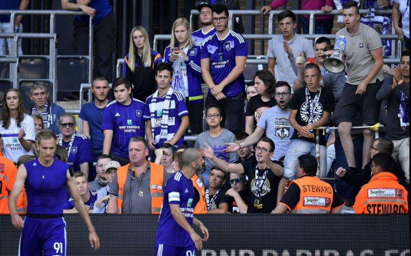 Anderlecht-fans teleurgesteld: