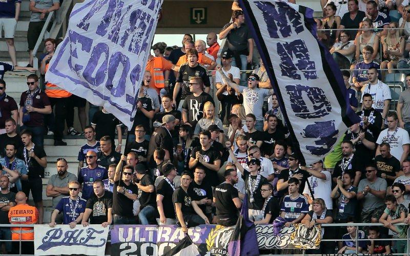 RSCA-fans nemen voorbeeld aan die van Club voor wedstrijd tegen Standard