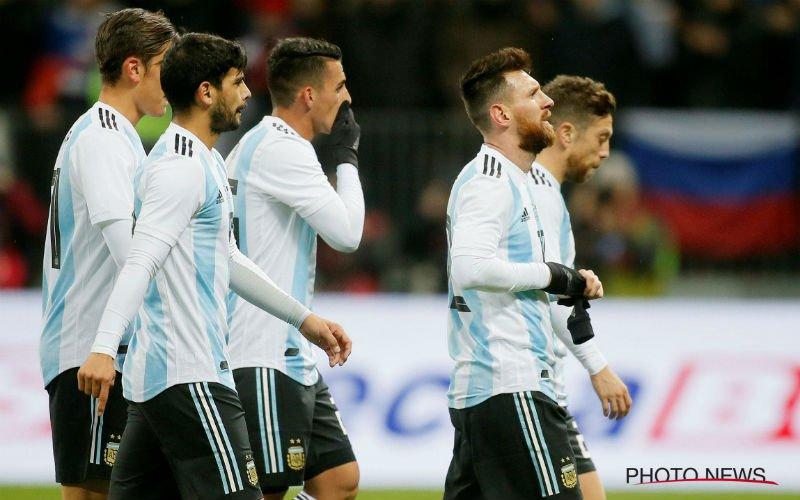 Ook Argentinië neemt erg grote naam niet mee naar het WK