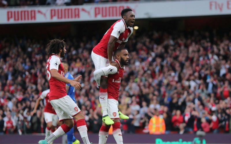 Arsenal wint spektakelmatch met zeven goals