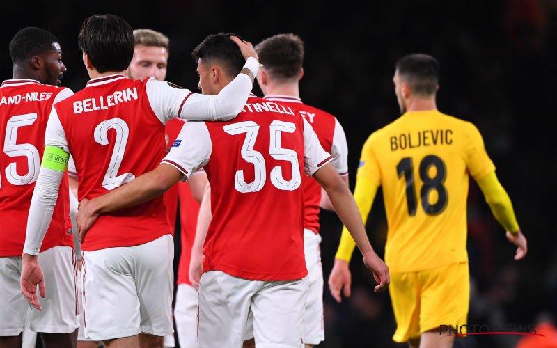 Standard wordt opgegeten door Arsenal