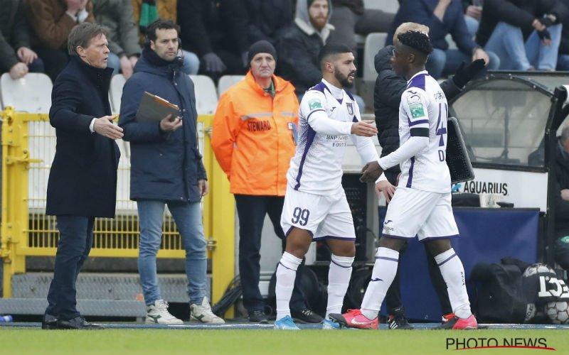 Bakkali reageert na zware kritiek van Anderlecht-fans