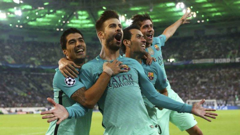 Barcelona pakt uit met originele ploegfoto