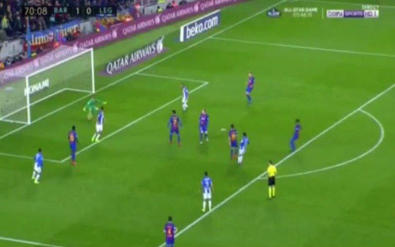Na blamage tegen PSG krijgt Barcelona nu een erg pijnlijk doelpunt tegen (Video)