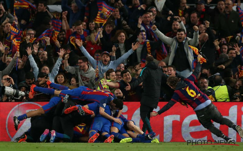 Peter Vandenbempt gaat volledig door zijn dak op het moment van de 6-1 van Barcelona (Video)
