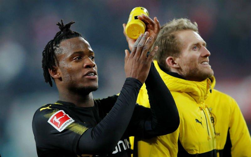 Michy Batshuayi krijgt officieel nieuws vanuit Dortmund te horen