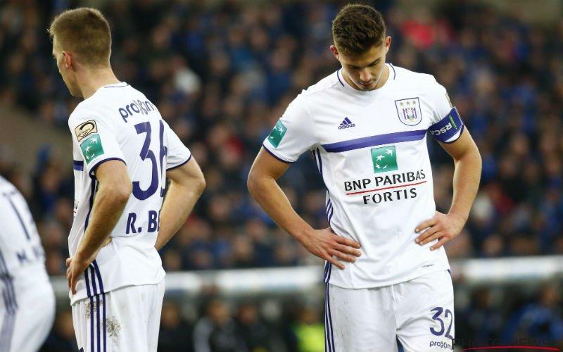 Vanhaezebrouck heeft slecht nieuws over transfers Anderlecht