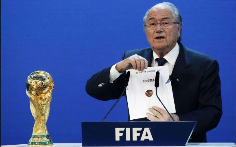 Net voor de loting: 'Rusland legt bom onder het WK'