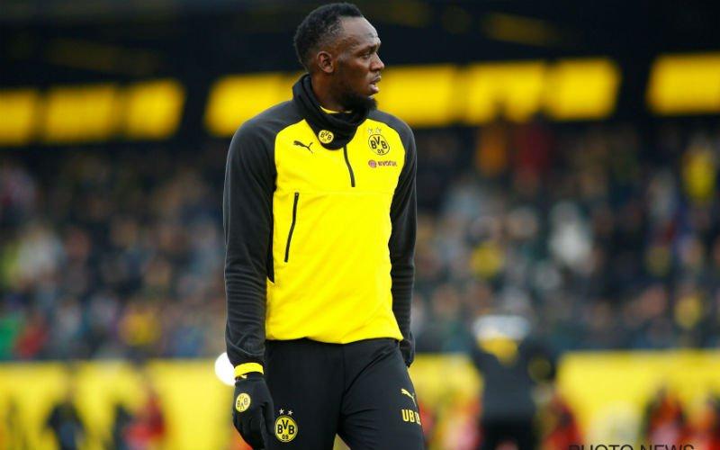 Wordt Usain Bolt nieuwe spits van Anderlecht?