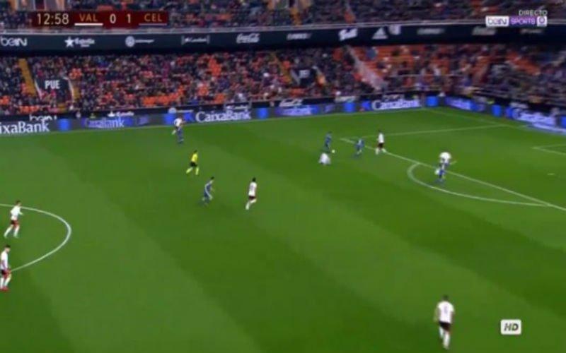 Opvallende Belg pakt uit met doelpunt en assist tegen Valencia (Video)