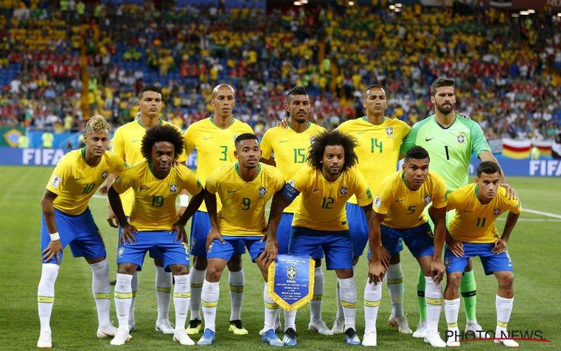Braziliaan valt vlak voor België uit: WK is voorbij voor hem