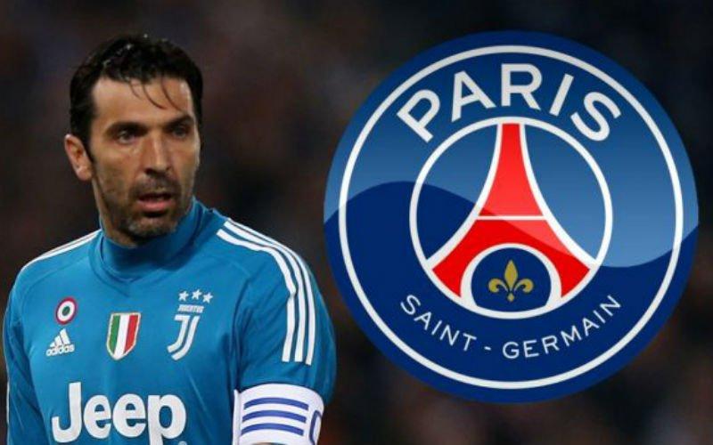 'Gianluigi Buffon verhuist naar Paris Saint-Germain'